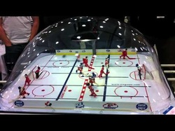 About Bubble Hockey - How to Play Dome & Rod Hockey - Bubble & Air ...